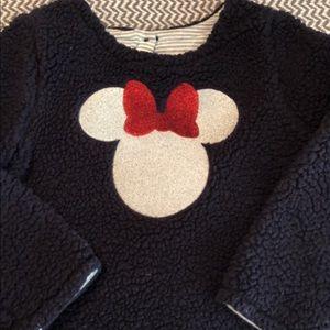 Gap fleece pullover